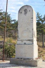 Il monumento al 65° Reggimento Fanteria