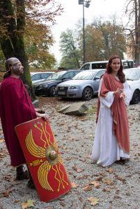 Il legionario e la sacerdotessa ci raccontano dei primi secoli di vita del castello