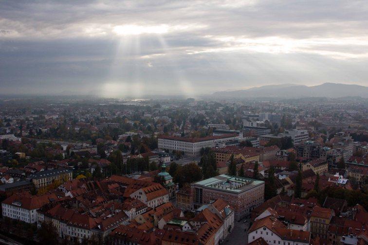 Ljubljana dal castello